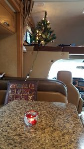 Celebrating Christmas at Blue Angle RV Park