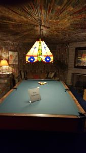 Elvis' pool table
