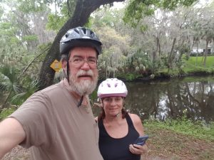 Gypsy and LoneStar at Hidden River