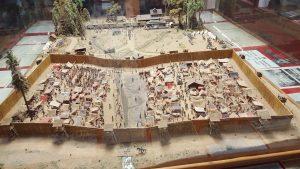 Replica of the prison camp