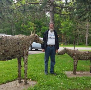 LoneStar with horses