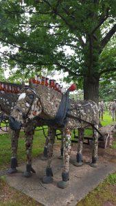 Horses & Wagon