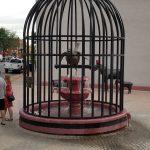 City Street Bird Cage