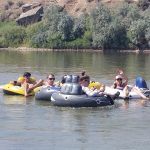 Floating down the Colorado River