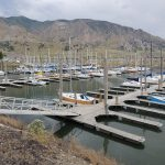 Salt Lake boat dock